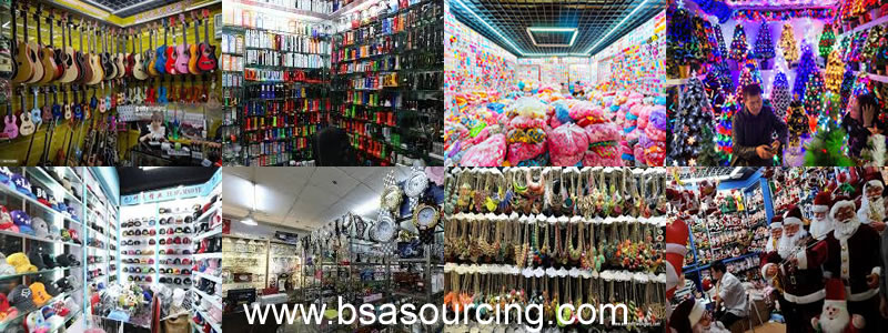 Yiwu wholesale Market-BSA SOURCING